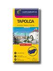 """Cartographia Kiad� - TAPOLCA - V�ROST�RK�P 1:10000 -""""SC"""""""