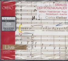 STRAUSS, R. - DER ROSENKAVALIER 3CD CARLOS KLEIBER, WATSON, FASSBAENDER, POPP, KUSCHE