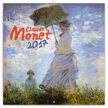 SmartCalendart Kft. - PG Claude Monet, grid calendar 2017, 30 x 30 cm