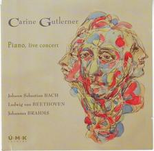BACH-BEETHOVEN-BRAHMS - Piano, live concert