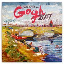 SmartCalendart Kft. - PG Vincent van Gogh, grid calendar 2017, 30 x 30 cm