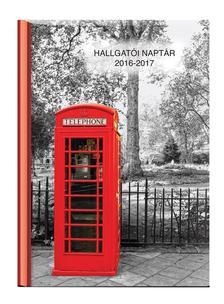 Kalendart Kiad� - HALLGAT�I NAPT�R - A5 M�RET� -  HETI BEOSZT�S�- TELEFONF�LKE