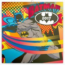 SmartCalendart Kft. - PG Batman, grid calendar 2017, 30 x 30 cm