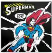 SmartCalendart Kft. - PG Superman,  grid calendar 2017,  30 x 30 cm