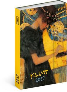SmartCalendart Kft. - PG Gustav Klimt, diary 2017, 10,5 x 15,8 cm