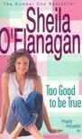 Sheila O'Flanagan - Too Good to be True [antikvár]