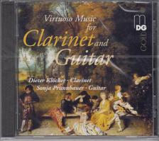 DONIZETTI,PLEYEL,MÜLLER - VIRTUOSO MUSIC FOR CLARINET AND GUITAR CD