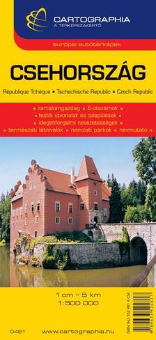 Cartographia Kiadó - CSEHORSZÁG AUTÓTÉRKÉP - CART. -