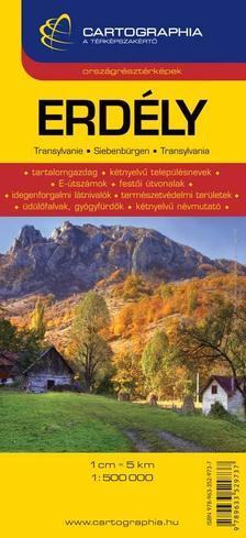 Cartographia - ERDÉLY ORSZÁGRÉSZTÉRKÉPEK - CART. -