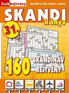 CSOSCH KIADÓ - ZsebRejtvény SKANDI Könyv 31.
