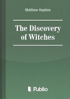 Hopkins Matthew - The Discovery of Witches [eKönyv: pdf, epub, mobi]