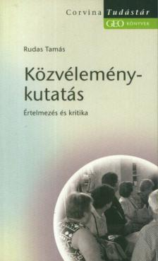 RUDAS TAMÁS - KÖZVÉLEMÉNY-KUTATÁS__