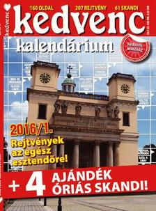 CSOSCH KIADÓ - Kedvenc Kalendárium 2016/1.