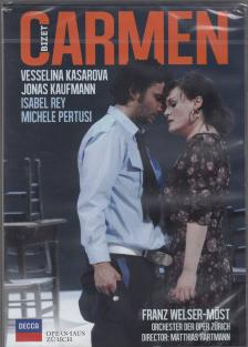Bizet - CARMEN DVD KASAROVA, KAUFMANN, REY, PERTUSI, WELSER-MÖST