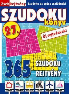 CSOSCH KIAD� - ZsebRejtv�ny SZUDOKU K�nyv 27.