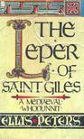 Peters, Ellis - The Leper of Saint Giles [antikvár]