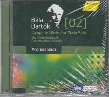Bartók - COMPLETE WORKS FOR PIANO SOLO CD ANDREAS BACH