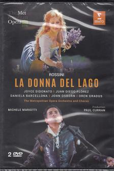 ROSSINI - LA DONNA DEL LAGO THE METROPOLITAN OPERA DVD