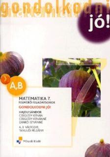 HAJDU S�NDOR - MK-4214-3/�J-K MATEMATIKA 7. FELADATSOROK GONDOLKODNI J�! /KERETTANTERV 2012