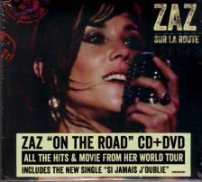 - SUR LA ROUTE (ON THE ROAD) CD+DVD - ZAZ