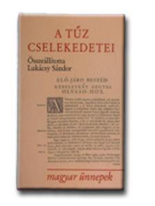 Luk�csy S�ndor - A t�z cselekedetei