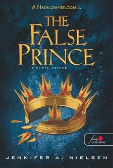 Jennifer A. Nielsen - A hamis herceg (Hatalom-trilógia 1.) - KEMÉNY BORÍTÓS
