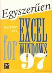 Baczoni Pál - Egyszerűen Excel for Windows 97 [antikvár]