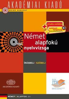 - Orig� - N�met alapfok� nyelvvizsga - virtu�lis- �r�sbeli sz�beli