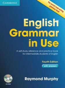 MURPHY, RAYMOND - ENGLISH GRAMMAR IN USE WITH ANSWER + CD-ROM 4TH EDITION
