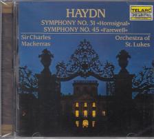 HAYDN JOSEPH - SYMPHONIES NO.31 & 45 CD