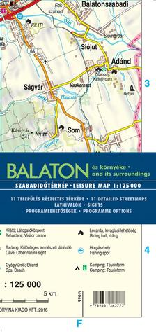 - Balaton és környéke (térkép)