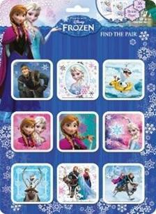 - Disney: Frozen - mem�riaj�t�k