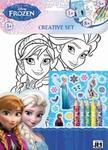 - Disney: Frozen - színezőkészlet matricákkal