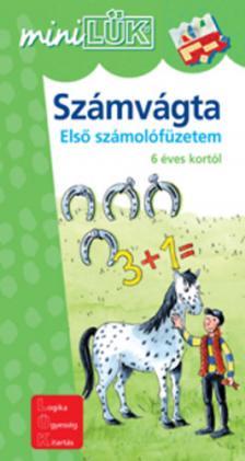 - LDI-217 SZÁMVÁGTA ELSŐ SZÁMOLÓFÜZETEM 6 ÉVES KORTÓL