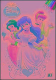 . - Disney Hercegnők kifestő