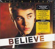 Justin Bieber - BELIEVE  DELUXE EDITION CD/DVD