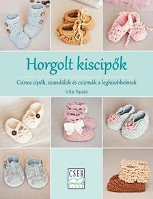 Vita Apala - Horgolt kiscipőkCsinos cipők, szandálok és csizmák a legkisebbeknek