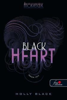 Black, Holly - Fekete szív (Átokvetők 3. könyv) - PUHA BORÍTÓS