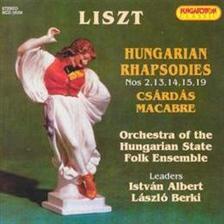 Liszt Ferenc - Hungarian Rapsodies - CD -