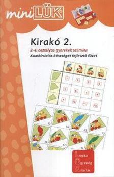 Michael Junga - Kirakó 2. - Kombinációs készséget fejlesztő füzet 2. és 4. osztályosoknak