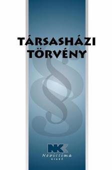 jogszabály - Társasházi törvény -  2016. január 7.