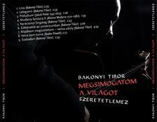 Bakonyi Tibor - Megsimogatom a vil�got