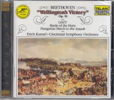 BEETHOVEN - WELLINGTON`S VICTORY OP.91, BATTLE OF THE HUNS CD KUNZEL