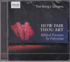 PALESTRINA - HOW FAIR THOU ART,CD