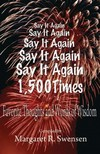 Swensen Margaret - Say It Again 1, 500 Times [eK�nyv: epub,  mobi]
