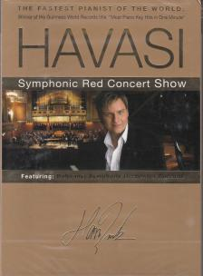 - SYMPHONIC RED CONCERT SHOW DVD HAVASI BALÁZS