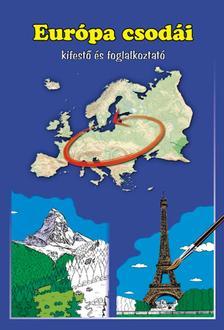 - Európa csodái kifestő és foglalkoztató