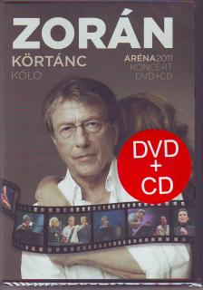 Zorán - KÖRTÁNC - KÓLÓ ARÉNA 2011 KONCERT CD+DVD ZORÁN
