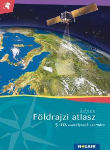 M�sz�rosn� Balogh �gnes - K�pes f�ldrajzi atlasz 5-10. �vfolyam (MS-4105U)