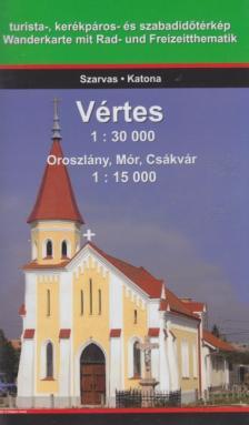 - VÉRTES HEGYSÉG 1:30000 OROSZLÁNY, MÓR, CSÁKVÁR 1:15000